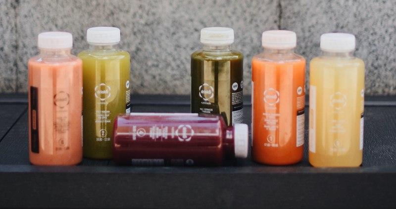 Alimentación saludable con Batidos Drink6 plan detox