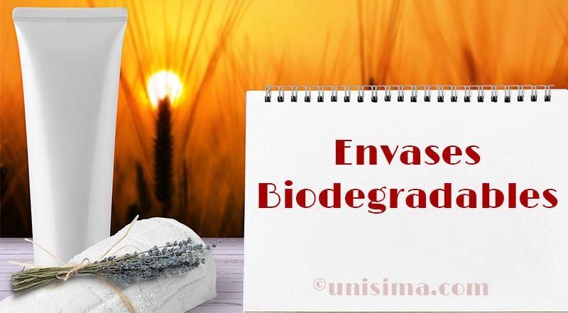 Envases Biodegradables en cosmética natural