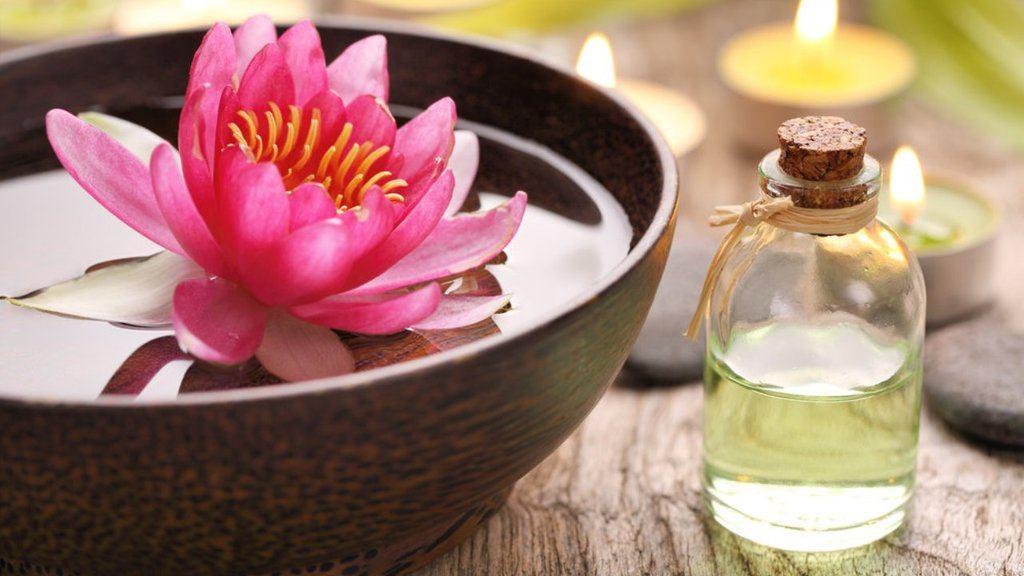 Aceite flor de loto