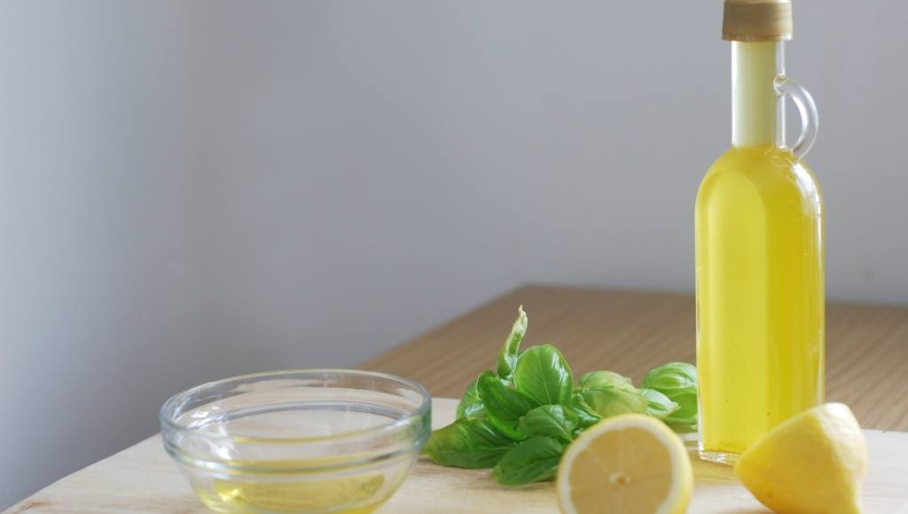 Aceite de lima en gastronomía