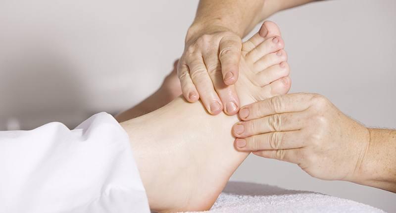 drenaje linfático casero en las piernas