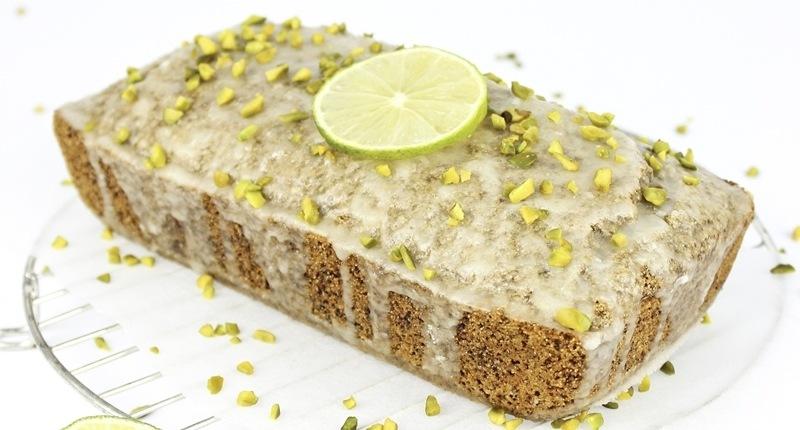 Pistacho en la dieta: pastel de pistacho y limón
