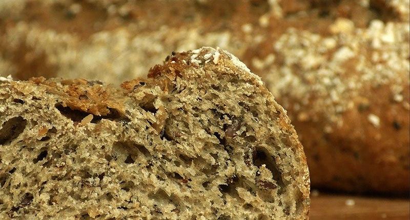 Receta de pan integral con Chía y Avena
