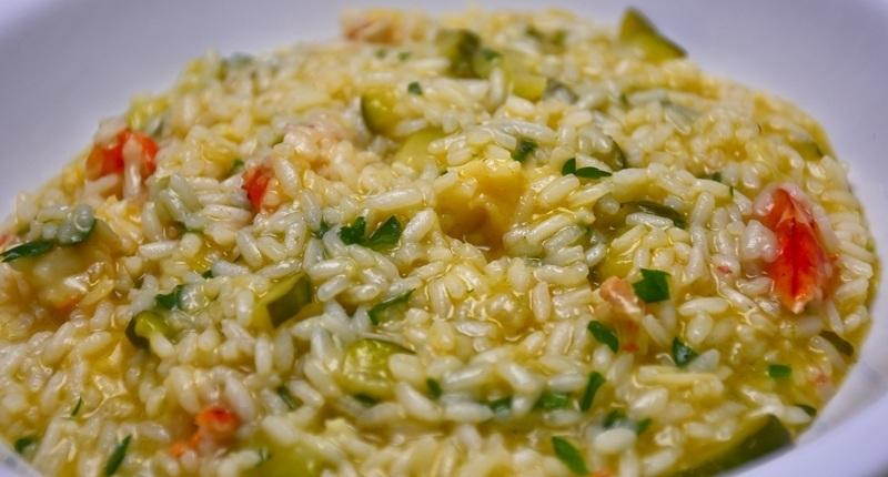 Risotto de arroz arborio