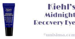 Midnight Recovery Eye de Kiehl's: Análisis y Alternativa