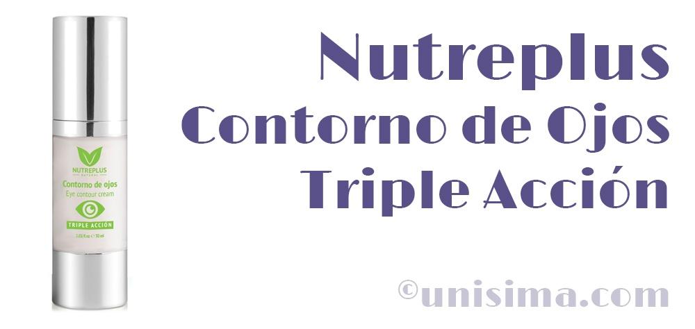 Nutreplus Contorno de ojos Triple accion