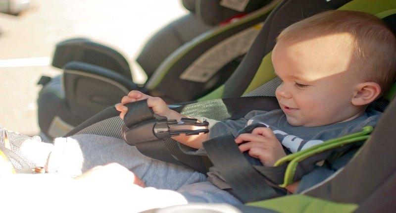 espejos retrovisores para bebés marca DEDC