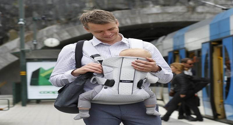 tipos de mochilas portabebés