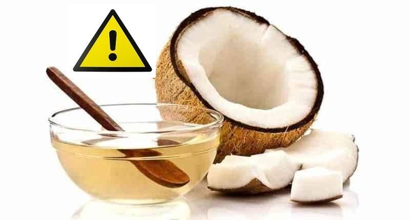 contraindicaciones del aceite de coco en ayunas