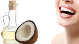 Aceite de coco para los dientes: Beneficios y cómo usarlo CORRECTAMENTE