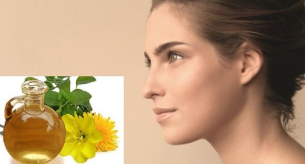 aceite de onagra para la piel y la cara