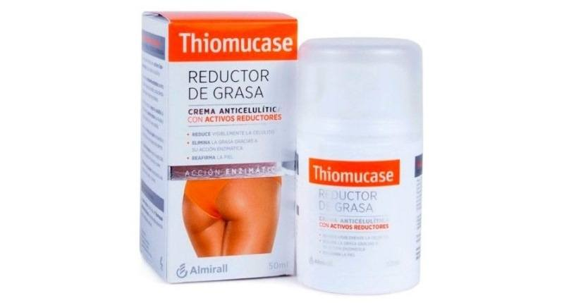 mejores cremas anticeluliticas - Thiomucase Kit Crema Anticelulítica Con Activos Reductores