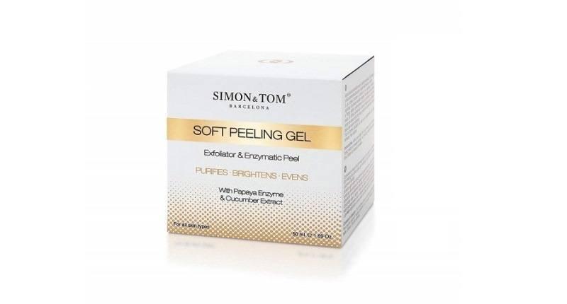 mejores exfoliantes faciales - Simon & Tom – Peeling Facial – 50ML – Elimina las espinillas y los puntos negros