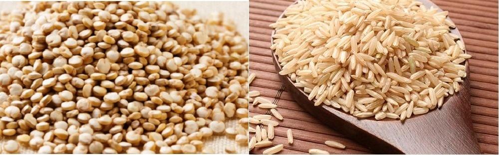 Quinoa Integral vs Arroz Integral