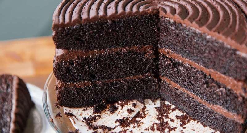Pastel de Chocolate con Harina De Coco