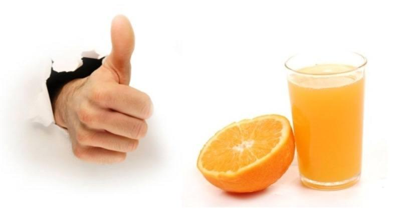 Ventajas del consumo de zumo de naranja
