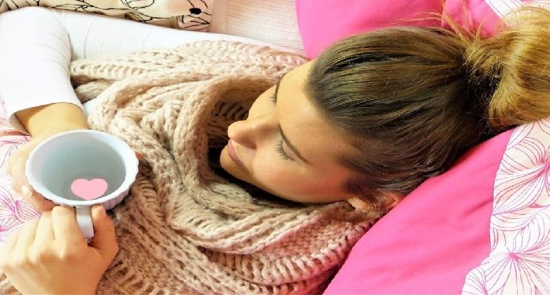flujo rosado y la menstruación