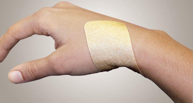aplicacion de parche o lamina de dermatix