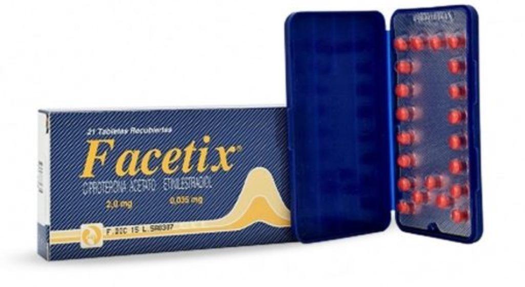 pastillas de planificacion para el acne