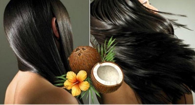 manteca de coco para hidratar el cabello