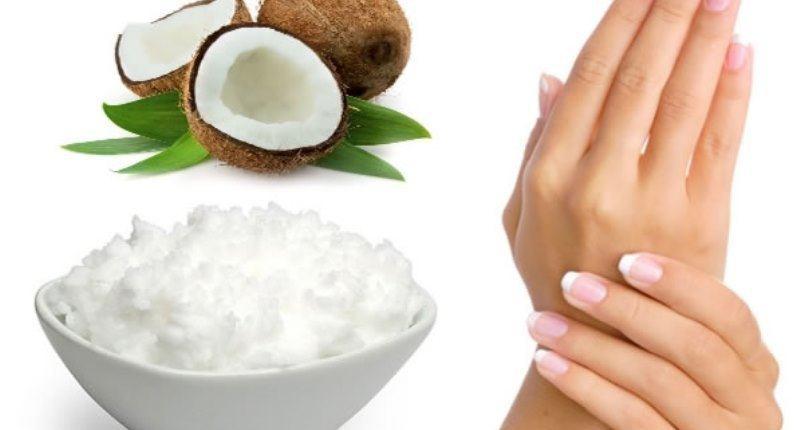 manteca de coco para hidratar la piel
