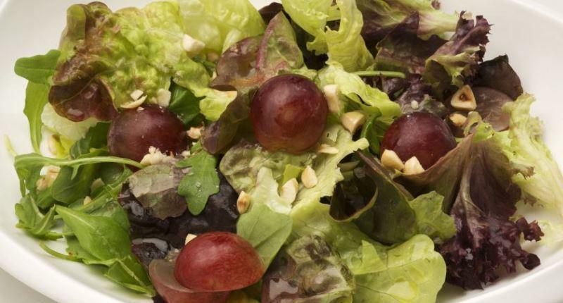 resveratrol - ensalada de uva
