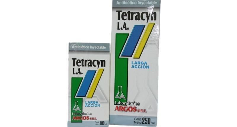 nombres comerciales de la tetraciclina