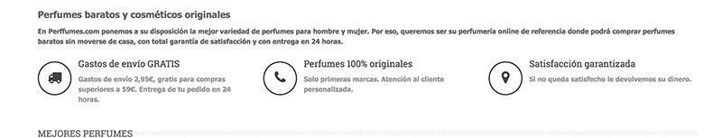 perffumes.com productos 100% originales y envios y devoluciones muy buenos