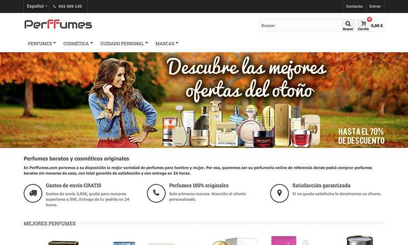perffumes.com tienda online de perfumes baratos
