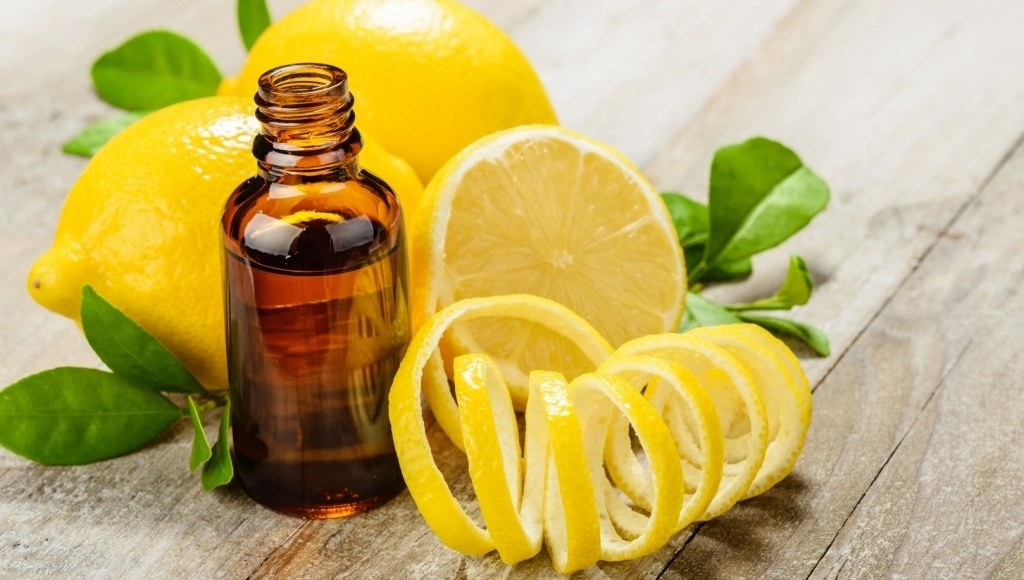 Beneficios y propiedades del aceite de limon