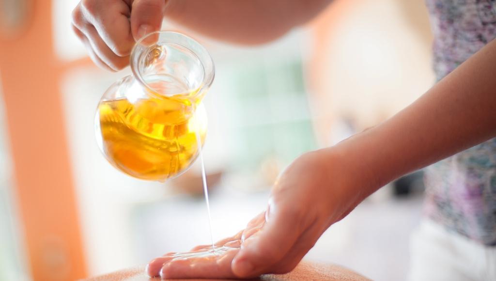 Masajes aceite albahaca