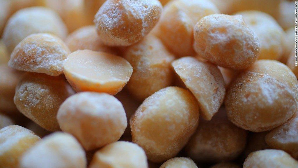 Composición de las nueces de macadamia
