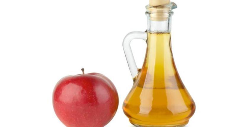 vinagre de sidra de manzana para el acne