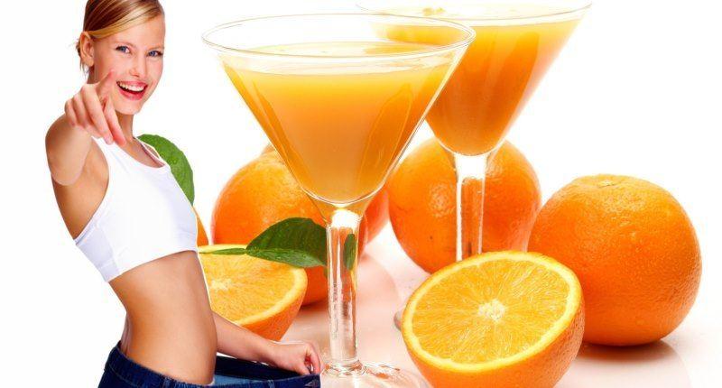 naranja para adelgazar