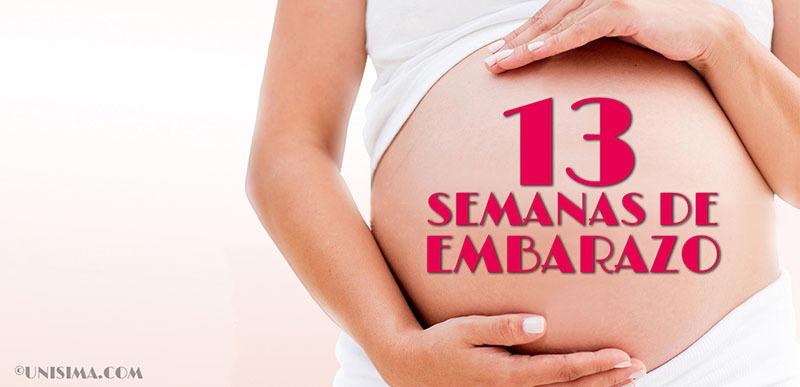 13 semanas de embarazo