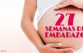 27 Semanas de Embarazo – Gestación Completa paso a paso