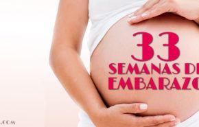 33 Semanas de Embarazo – Gestación Completa paso a paso