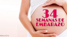 34 Semanas de Embarazo – Gestación Completa paso a paso