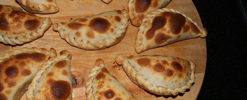Empanada de linaza con maiz