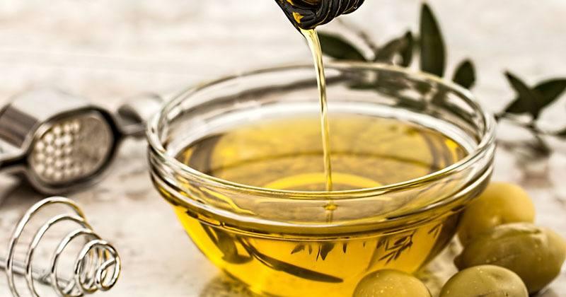 Comparación del aceite de oliva con otros alimentos