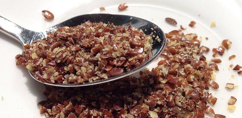 1 cucharada de semilla de lino es la cantidad recomendada