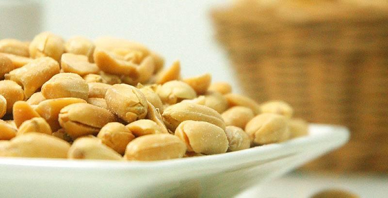 Tipo de Fruto seco: Cacahuetes o Maní