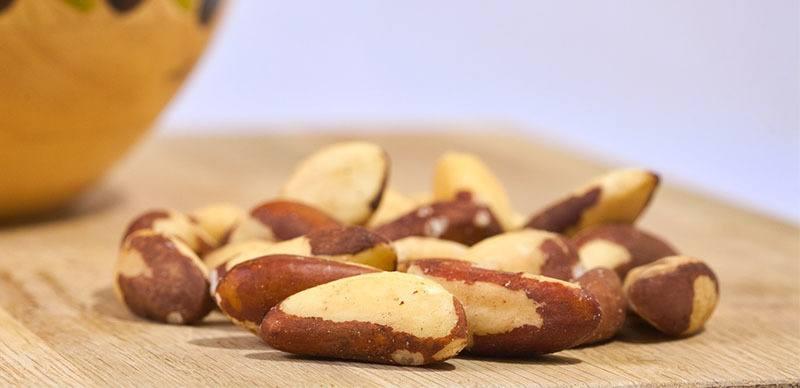 Tipo de Fruto seco: Nuez de Brasil o Coquitos