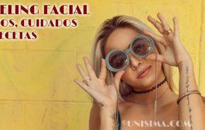 Peeling Facial: Tipos, Peligros, Cuidados necesarios y Recetas caseras