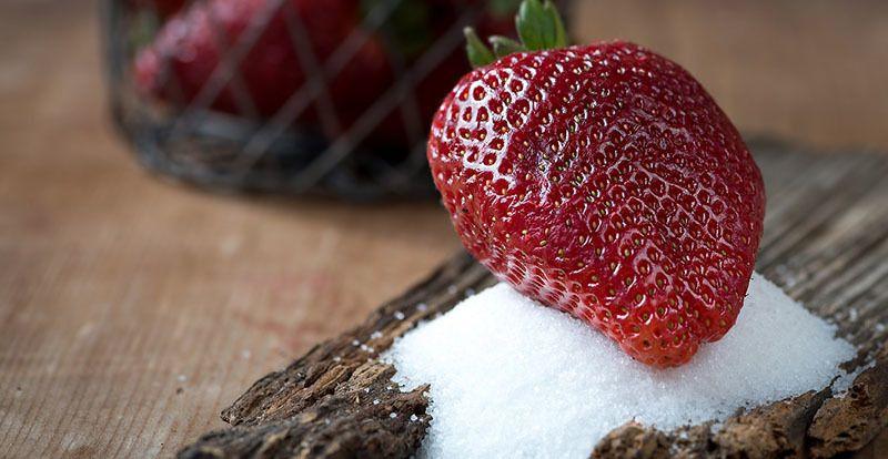 fructosa en los zumos de fruta