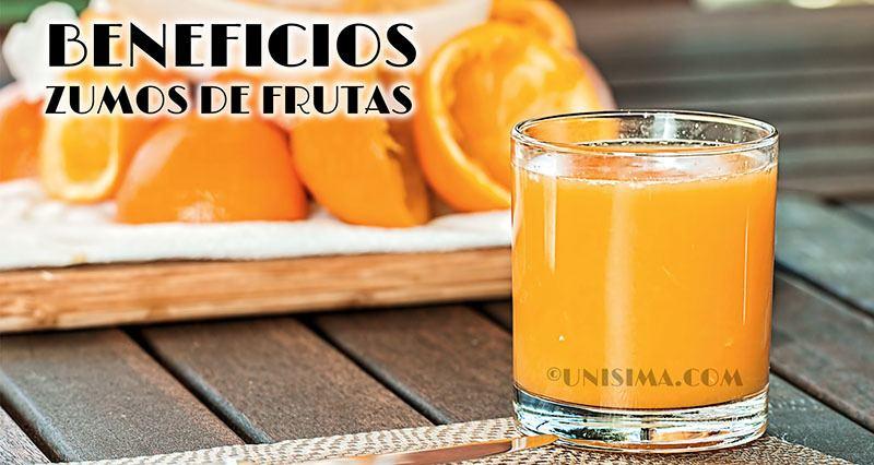 Beneficios de los zumos de frutas