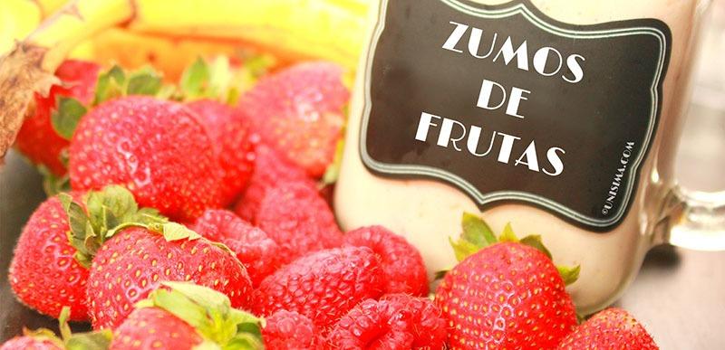 Zumos de frutas y sus beneficios para la salud