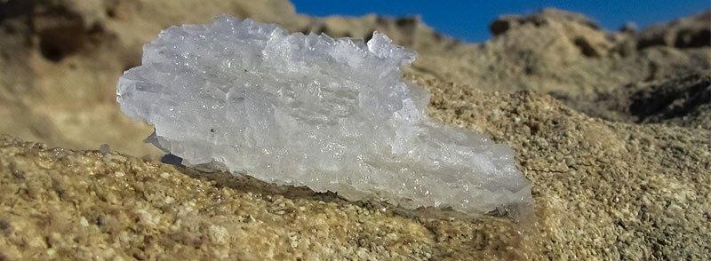Bicarbonato de sodio natural: natron