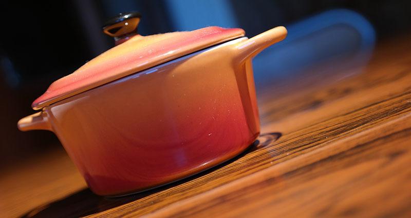 Cacerola para hacer gel de linaza casero