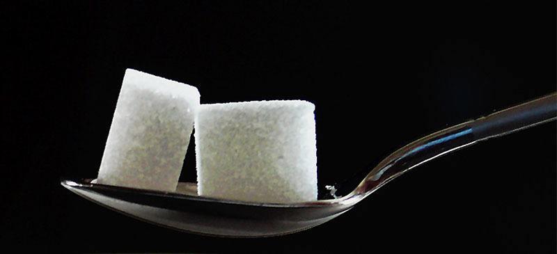 Cantidad diaria recomendada de Azúcar refinada